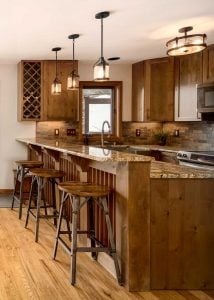 Kitchen at Highlands Townhome