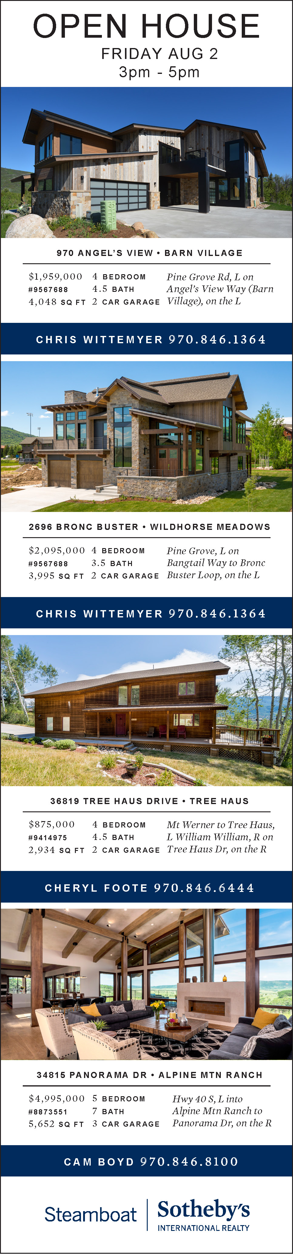 All Open Houses