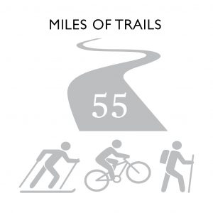 Miles Of Trails: 55