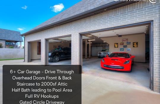 21800 Villagio Dr – Garage Overlay