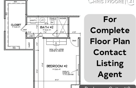 bedroom floor plan 2