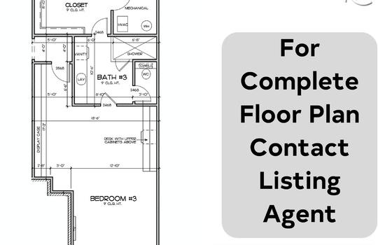 bedroom floor plan 3