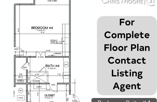 bedroom floor plan 4