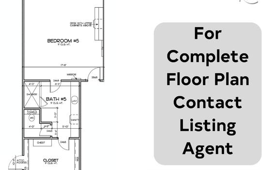 bedroom floor plan 5