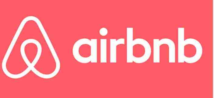 Airbnb Logo with Pink Background