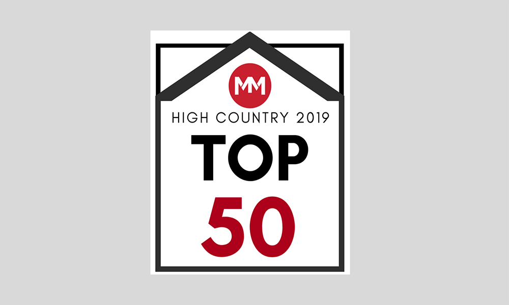 High Country of North Carolina Top 50 Brokers Logo