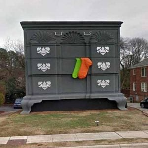 The Worlds Largest Chest of Drawers in the Furniture Capital of the World High Point, North Carolina.