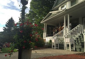 The Jones House in Boone, North Carolina, hosts local artists performing traditional Appalachian folk music.