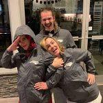 NC Realtor, Jordan Sellers wearing 828 Real Estate jacketes.