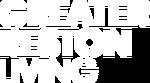 Greater Reston Living Logo White