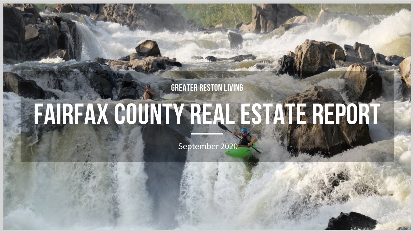 Fairfax County Real Estate Market Report for September 2020