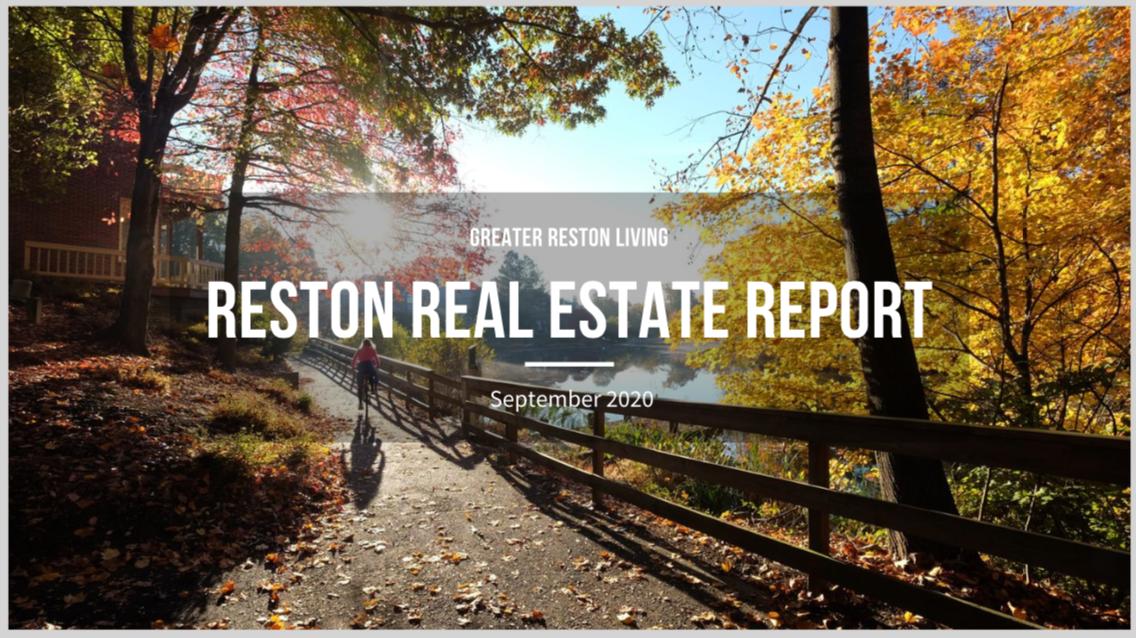 Reston Real Estate Market Report for September 2020