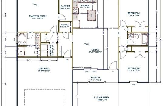 201 Woodland Floor Plan