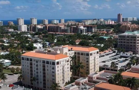 Mizner downtown Boca Raton Florida