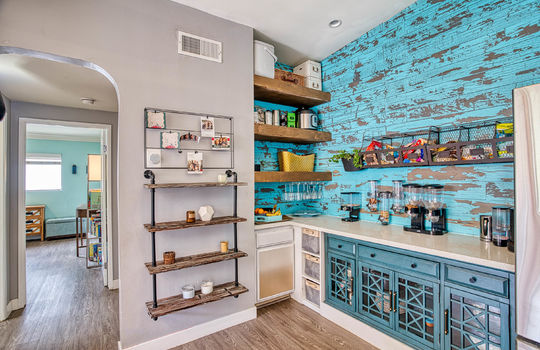 Built-ins and added counter space.