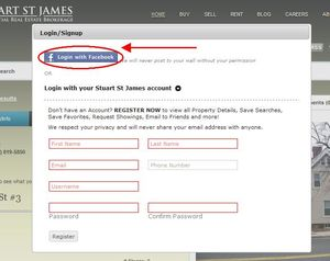 Stuart St James Facebook Login