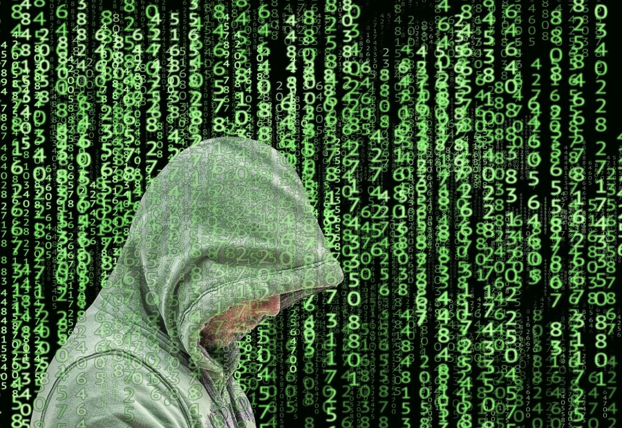 cybercrime and the hacker trying to get money wired from real estate transactions
