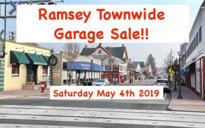 Ramsey Town Wide Garage Sale 5/4/2019