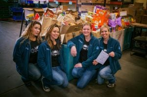 2017 - Team Bell Real Estate Feeding The Heart Food Drive Bremerton
