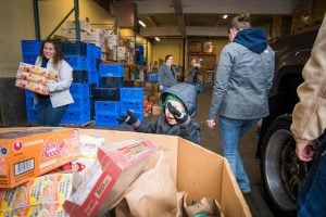 2019 - Team Bell Real Estate Feeding The Heart Food Drive Bremerton
