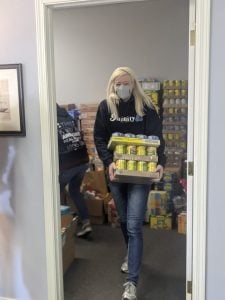 Team Bell Real Estate Feeding The Heart Food Drive 2021