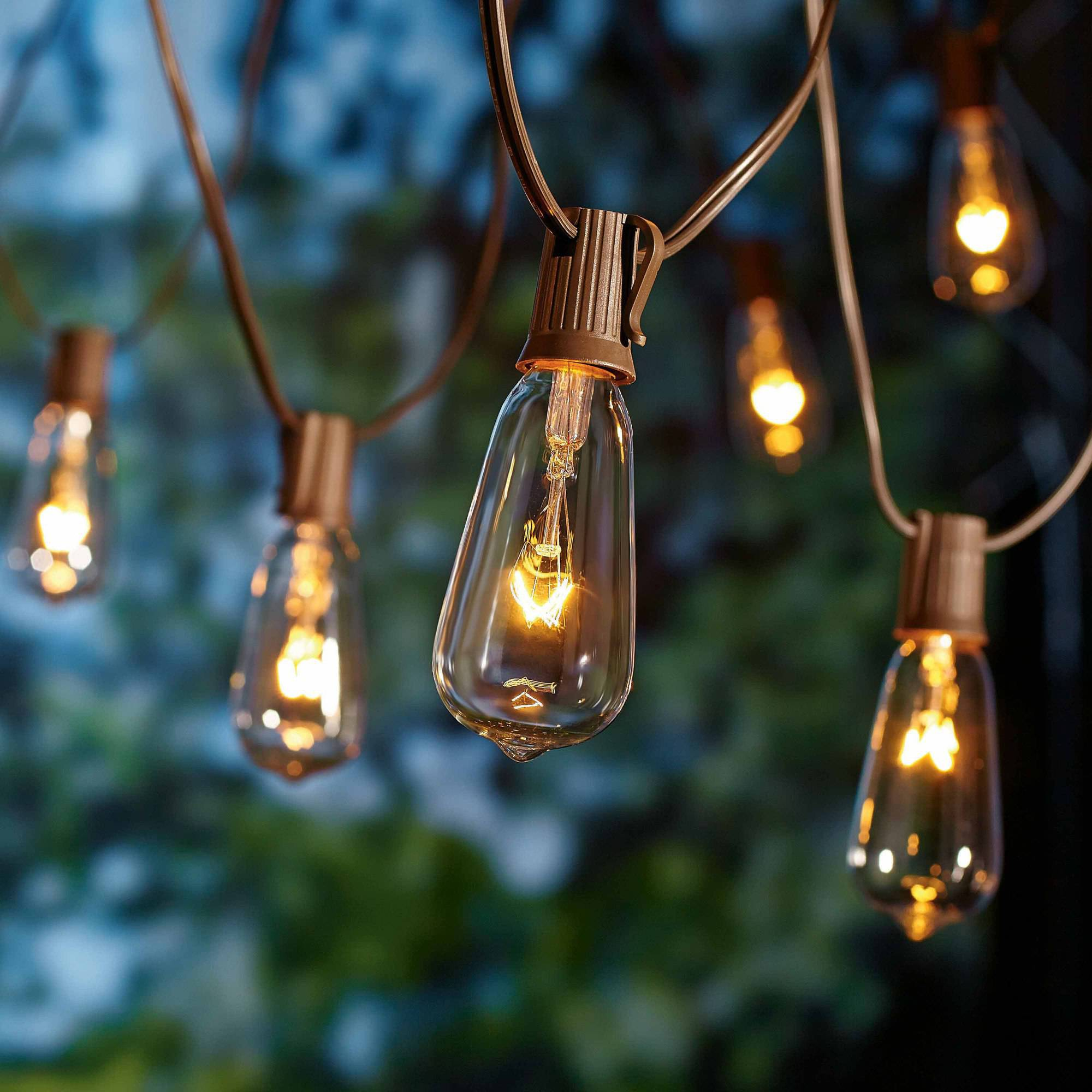 Decorative String Lights Outdoor Photo