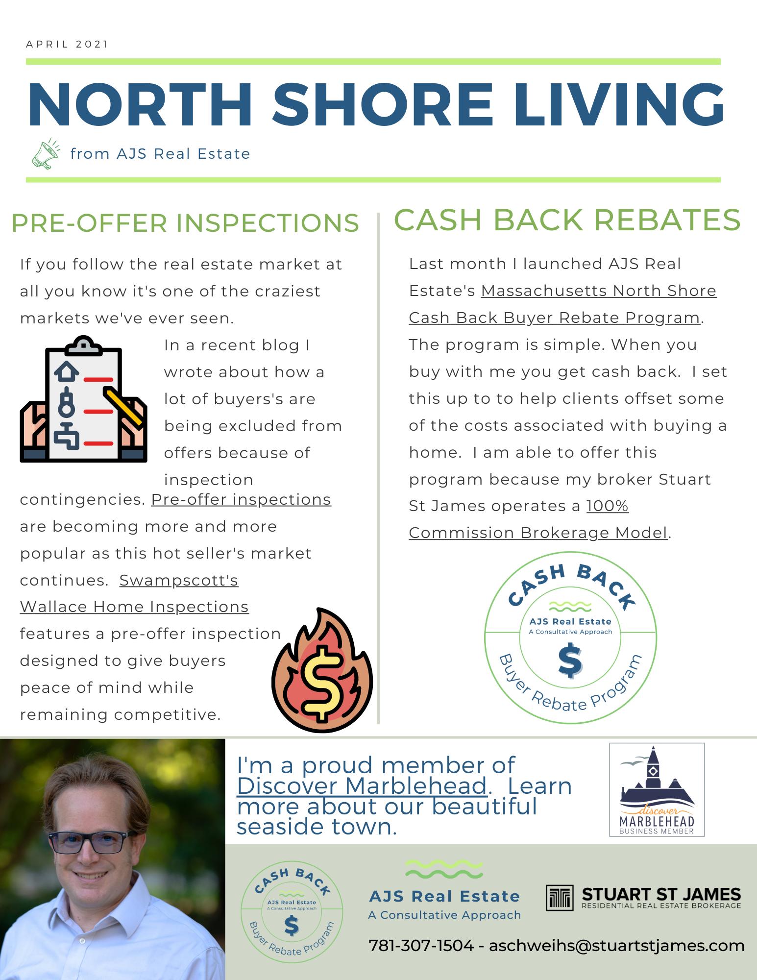 North Shore Living – April Newsletter