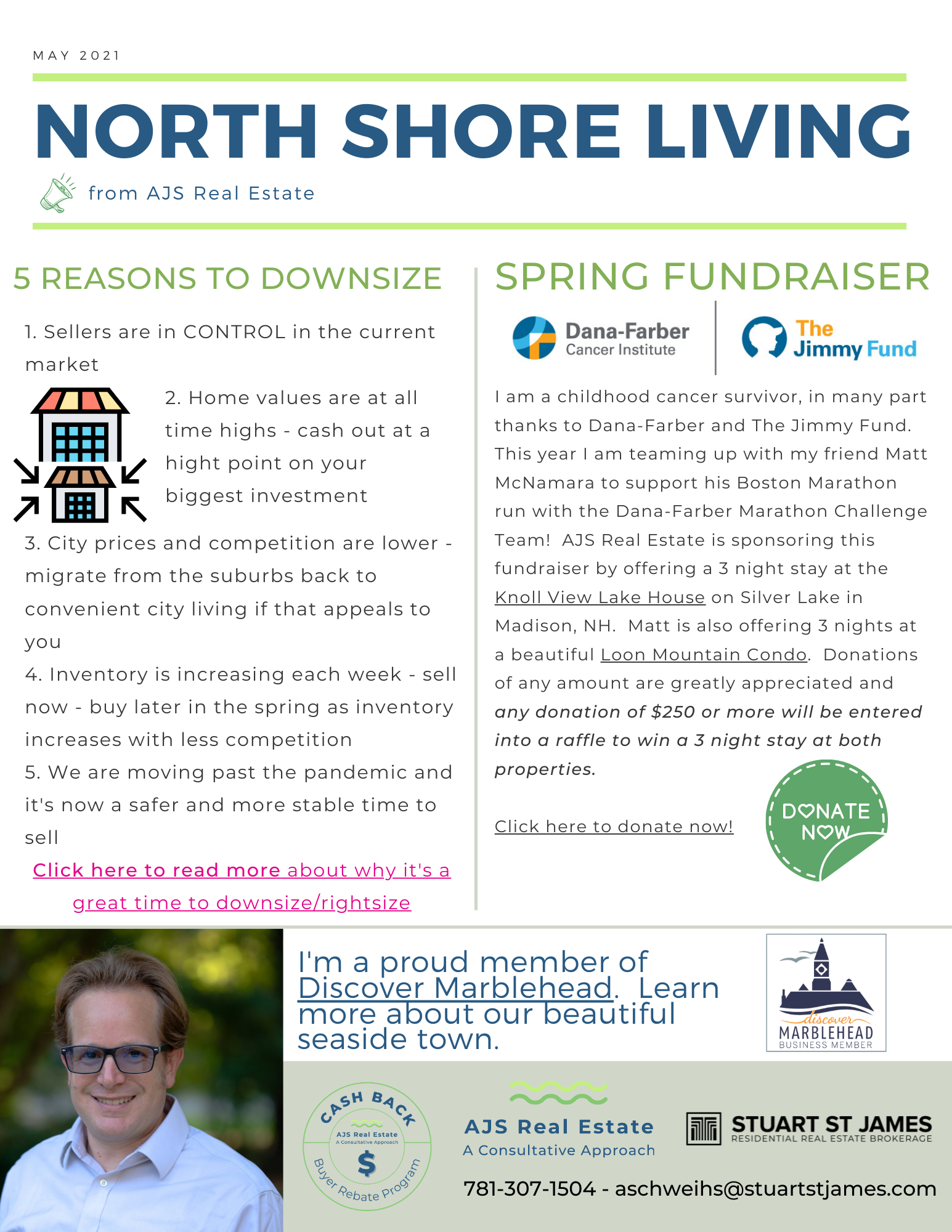 North Shore Living – May Newsletter