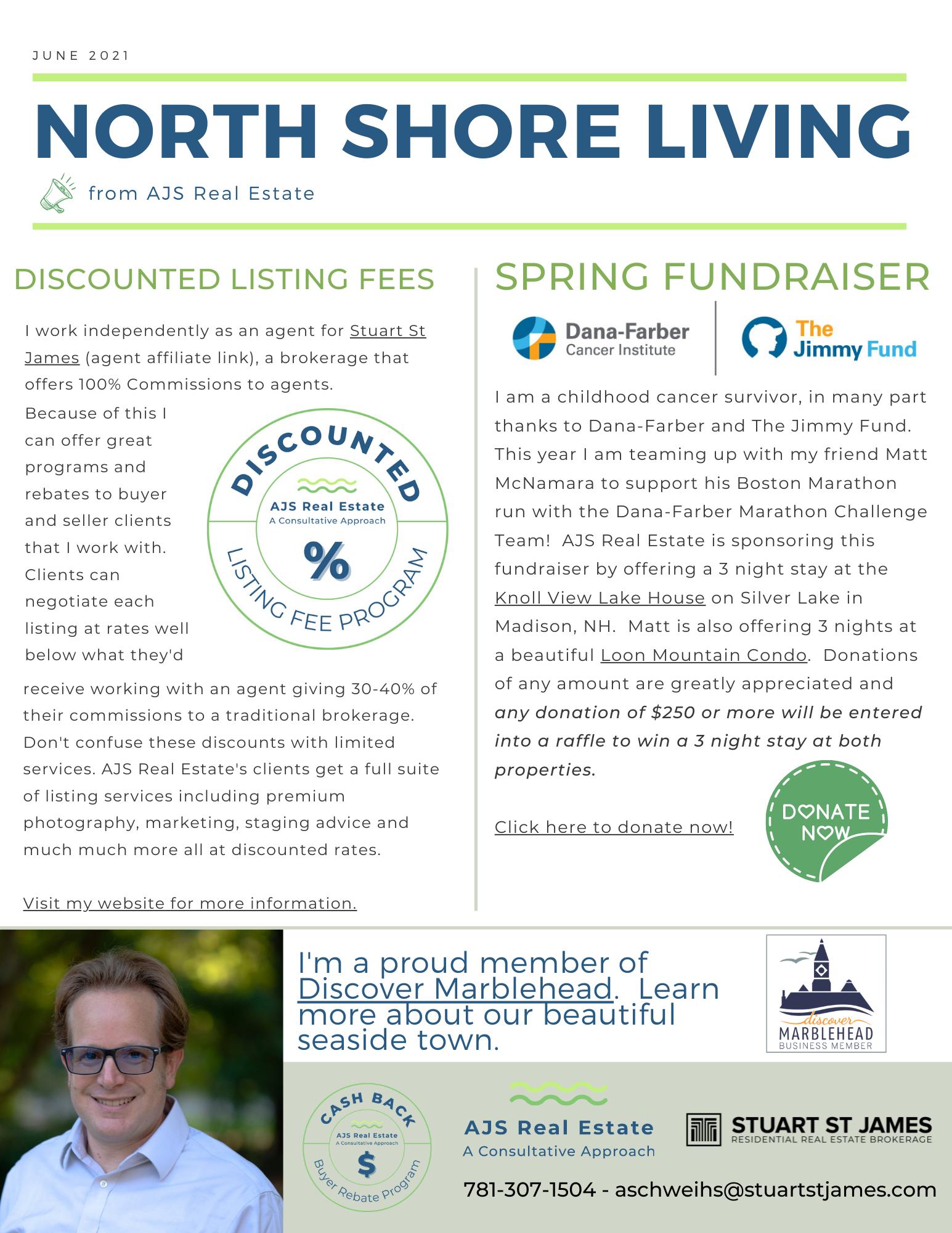 North Shore Living – June Newsletter