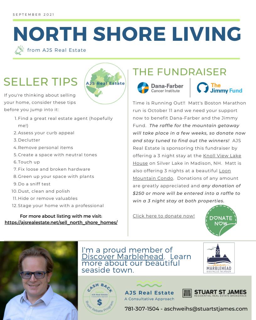 North Shore Living – September Newsletter