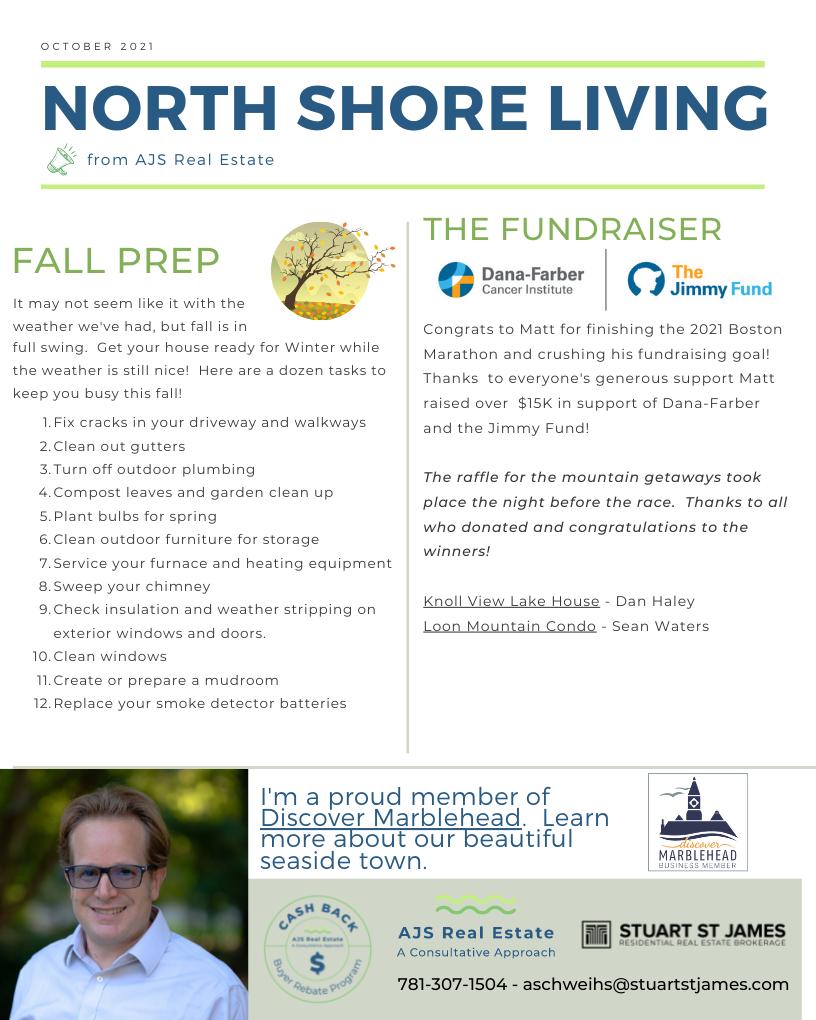 North Shore Living – October Newsletter