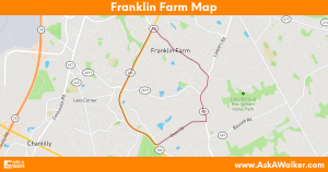 Map of Franklin Farm