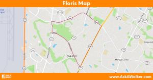 Map of Floris