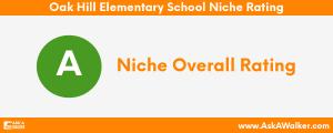 Niche Rating of Oak Hill Elementary School