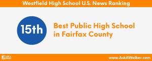 U.S. News Ranking of Westfield High School