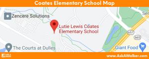 Map of Coates Elementary School