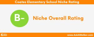 Niche Rating of Coates Elementary School