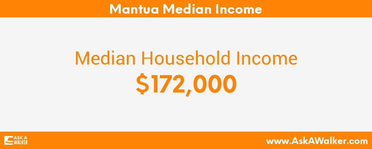 Median Income of Mantua