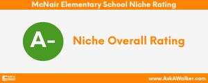 Niche Rating of McNair Elementary School