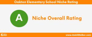 Niche Rating of Oakton Elementary School