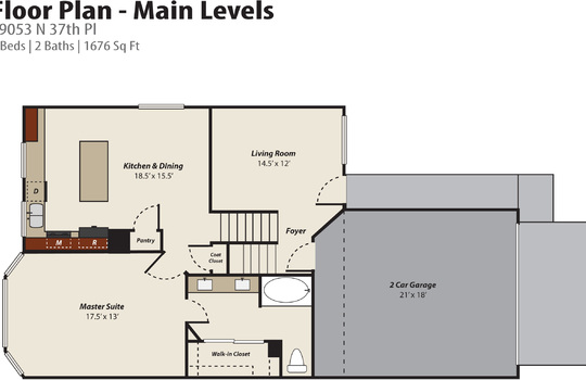 Floor Plan Photo 1 – 19053 N 37th Pl
