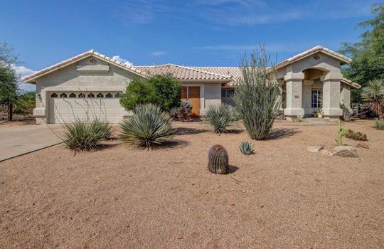 Front – 536 E Desert Ranch Rd – Fauss – BA