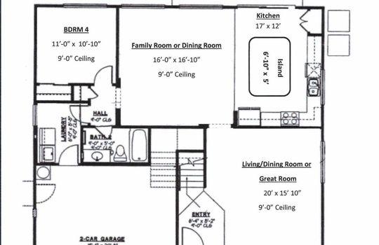 Floor Plan 1 – Photos – 3031 W Winter Dr