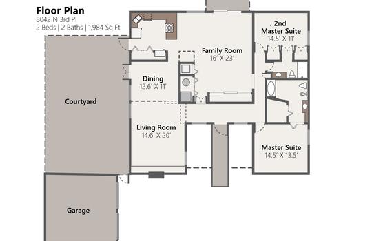 Floor Plan Photo Version – 8042 N 3rd Pl-01