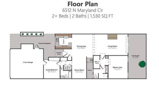 Floor Plan Photo Version – 6512 N Maryland Cir-01