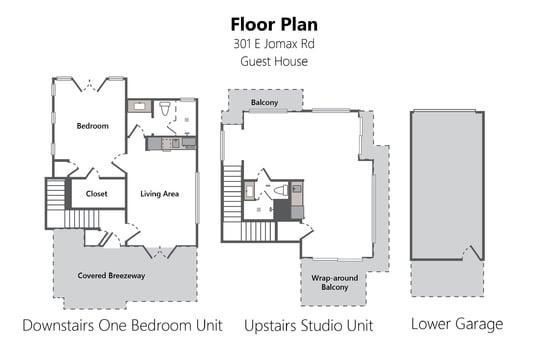 Floor Plan Photo Version Guest House – 301 E Jomax Rd-01-02