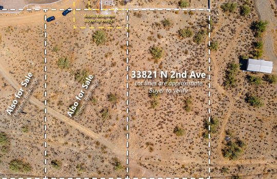 Lot Lines Top Down Photo – 33821 N 2nd Ave-01