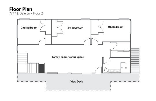 Floor Plan Floor 2 Photo – 7747 E Dale Ln-01-02