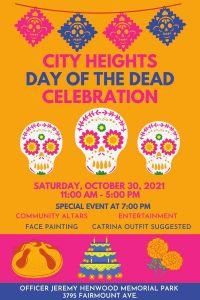 City Heights San Diego Day of the dead celebration website