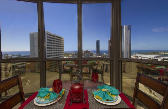 dining rm view